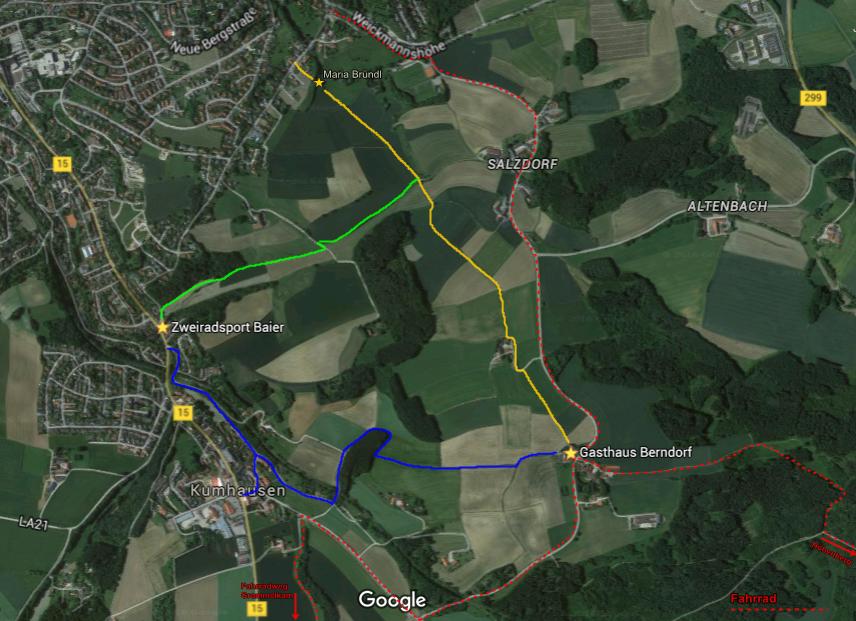 Wanderwege Maps 2